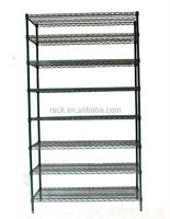 9F - Heavy Duty Steel Supermarket Wire Shelf Rack , NSF & SGS Approval,Exporting to 50 Countries, 15 years Factory