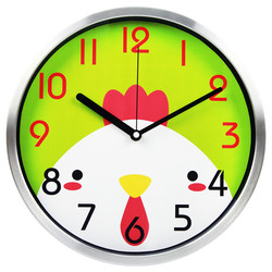 Guangzhou 2015 new products/ clock wall/funny wall clock children learn times