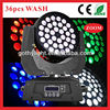 CE RoHS 36x10w 4in1 Wash /Moving Head Par