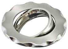 Stain Nickel MR16 halogen lighting ring fixtures