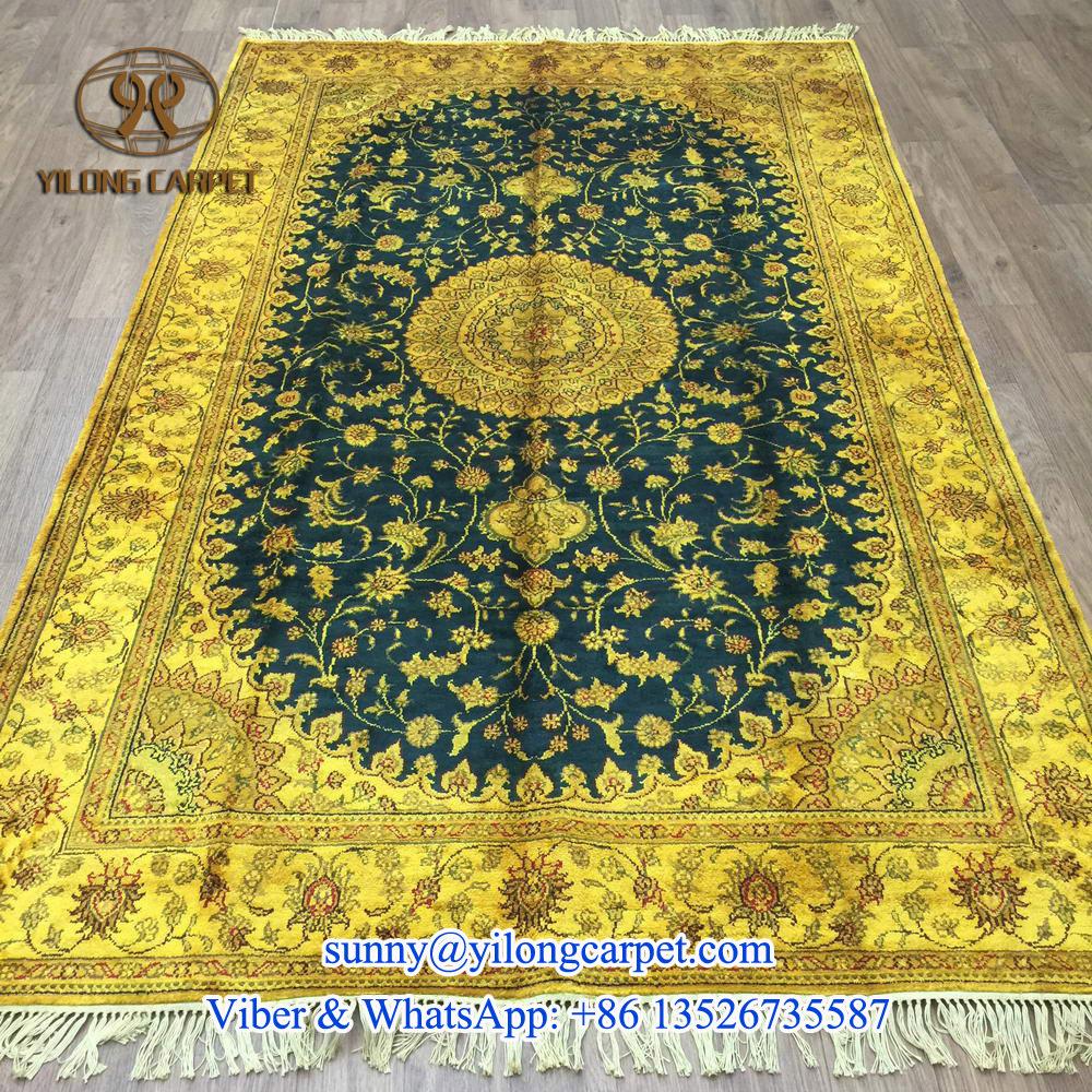 antikensammlung 5x8ft seide persischen desigsn goldenen