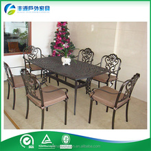 Import Furniture From China metal frame dining table