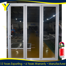 YY Factory Aluminum Bifold Door Double Glazed Doors And Windows with AS2047 AS2208 AS1288