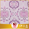 Export to European pink color new design 100% polyester curtain fabric