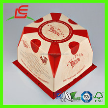 J023 Lovely Handmade Art Paper Birthday Cake Box Wholesale