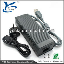 brand new main video game accessories ac adapter for xbox360 game console with CE identification