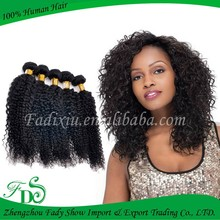2014 new hotsale jerry curl weave extensions human hair unprocessed long jerry curl weave