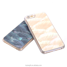 New design Phone Accessories 2016 Fancy Items Natural Seashell Mobile Phone Case for iphone 6s,Cell Phone Covers for Girls