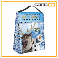 Wholesale insulated olaf, Anna, Elsa bag for lunch box, cute frozen lunch bags for women