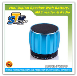 High quality portable rechargeable bluetooth subwoofer