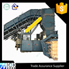 With Steel wire tie cardboard Baling Press Machine