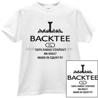 Factory high quality t shirt heat press sticker, iron on transfer label