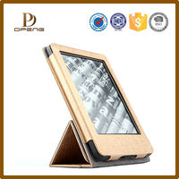 leather decorative smart cover for kindle fire