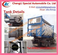 Hot sale 20ft Used ISO Tank Container with Capacity of 21000L,40ft chemical tank container are avaiable