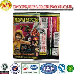 Recycle cosmetic plastic bag/Luxury cosmetic plastic bag