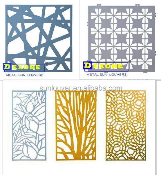 m tal d coratif en aluminium grav t le perfor e panneau pour mur ext rieur d coration panneau. Black Bedroom Furniture Sets. Home Design Ideas
