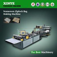 Non Woven Zipper Bag Making Machinery
