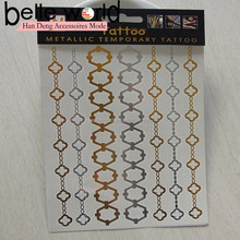 hot selling circle golden tattoo jewelry