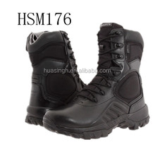 attack pretty design black leather military commander combat boots for navy seals
