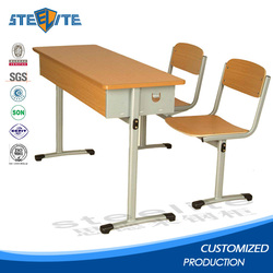 Folding auditorium desk and chair combo desk and chair