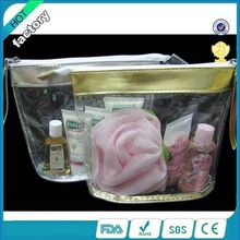 wholesale clear mini cosmetic pvc waterproof bag