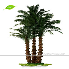 GNW APM046 iron on palm tree use flexible plastic made for outdoor decoration