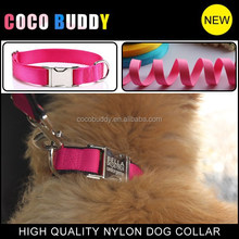 Head dog collar diy plain nylon dog collars hot new pet dog products from dongguan coco buddy