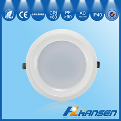 20w dimmable and hot sale 7 inch led mini down light