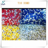 China factory 5050 smd led dome with t10 connector