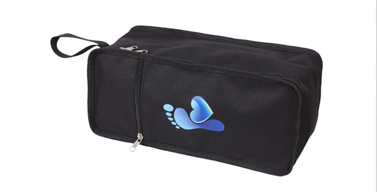 Multicolore utilisation du stockage de voyage PVC sac à chaussures