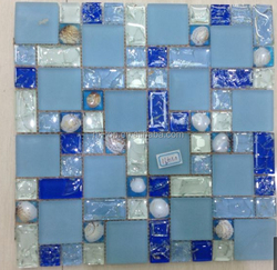Make In Foshan Glass Mosaic New Design Tile China Manufacture