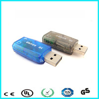 Virtual 5.1 Channel 2.0 usb sound card for macbook