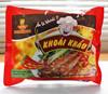 """""""KHOAI KHAU"""" hot & shrimp flavor INSTANT NOODLES 65 gr, VAN BAO, VI HUONG NOODLES"""