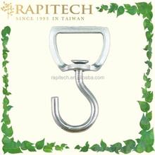Gardening Metal Hanging Basket Swivel Hanging Hook