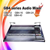 12 channls studio dj equipment audio mixer