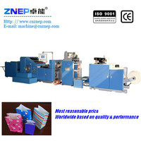 ZD-F190 China Factory Price CE recycling small paper bag making machine
