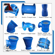Delta ductile iron pipe fittings