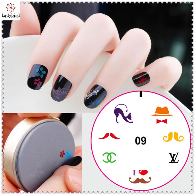 Ladybird Stamping Nail Art Tools Set Kit