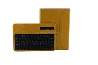 Newest Detachable Wireless Bluetooth Keyboard Leather Case For iPad Mini/Mini 2