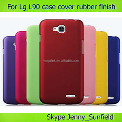 phone accessories phone case rubber hard case cover for lg l90, for LG l90 case cover
