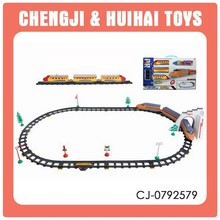 children electrical toy trains model set with light for sale