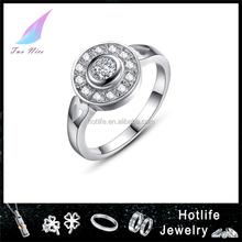 bijoux fashion China factory zircon stone fashion ring