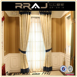 factory custom made electric auto luxury chinese curtains curtain