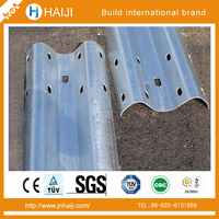 Safety Stainless galvanized or painted Steel Corugated Roadway or motorway Armco traffic steel barrier