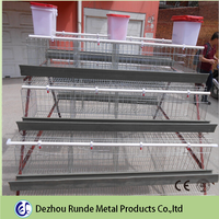 High quality collapsible wire chicken layer cage chicken breeding cage for sale