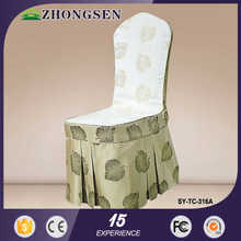 new products 2015 bright color new fashion chair cover sash band