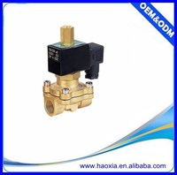 Low price 2 Way brass normally open water solenoid valve 2WC-15-DC24V