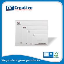 Gold printed glamour kraft bubble envelope mailers design