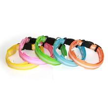 LED Pet Cat Dog LED Collar Safety Glow Luminous Flashing Lighting Up Necklace!!