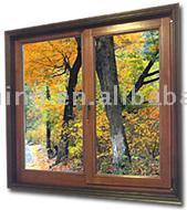 Aluminum-wooden Inward Tilt-Turn Windows
